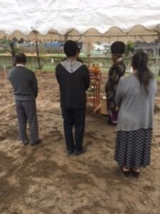 橋本邸・地鎮祭